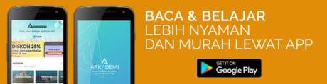 banner CTA blog mobile app arkademi