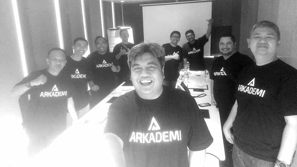 arkademi team tentang about