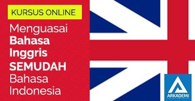 feature image kursus online menguasai bahasa inggris semudah bahasa indonesia arkademi kursus online bersertifikat