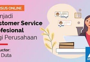 feature image arkademi kursus online Menjadi Customer Service Profesional bagi Perusahaan LKP duta