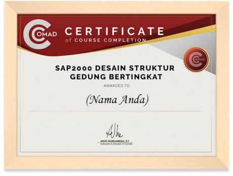 FRAMED SERTIFIKAT SAP 2000 (1)