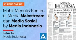 feature image Mahir Menulis Konten di Media Mainstream dan Sosmed
