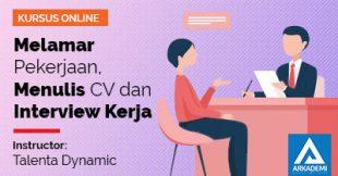 feature image Melamar Pekerjaan, Menulis CV dan Interview Kerja