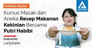 Thumbnail - Kursus Masak dan Aneka Resep Makanan Kekinian Bersama Putri Habibi