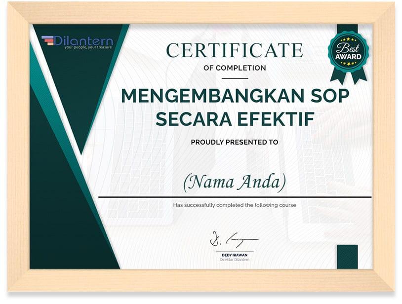 Certificate_SOP_Frame