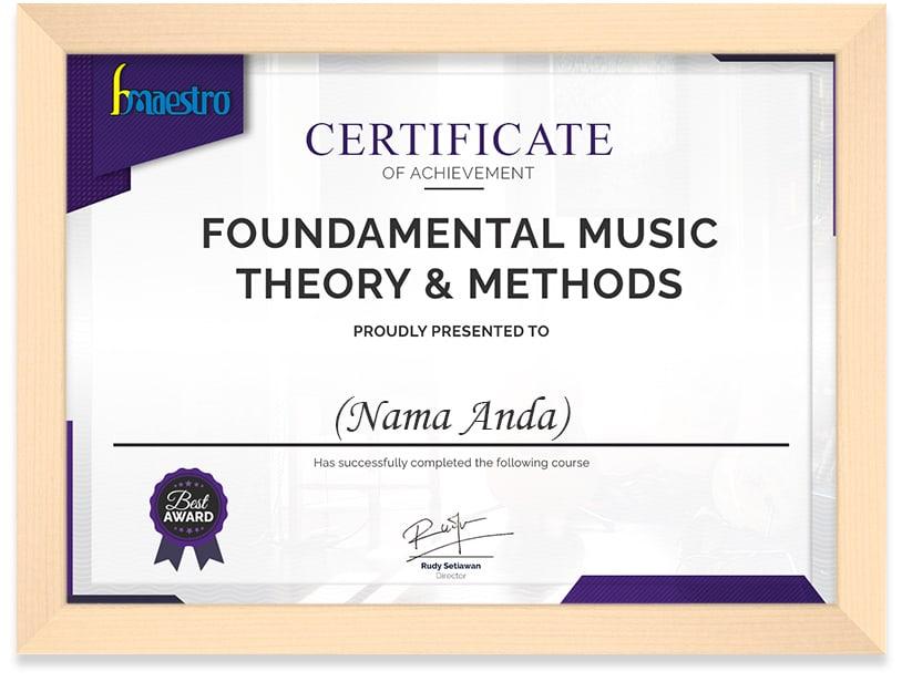 Certificate_Bmaestro_Frame