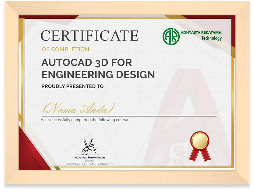 Autocad_3D_Certificate_frame