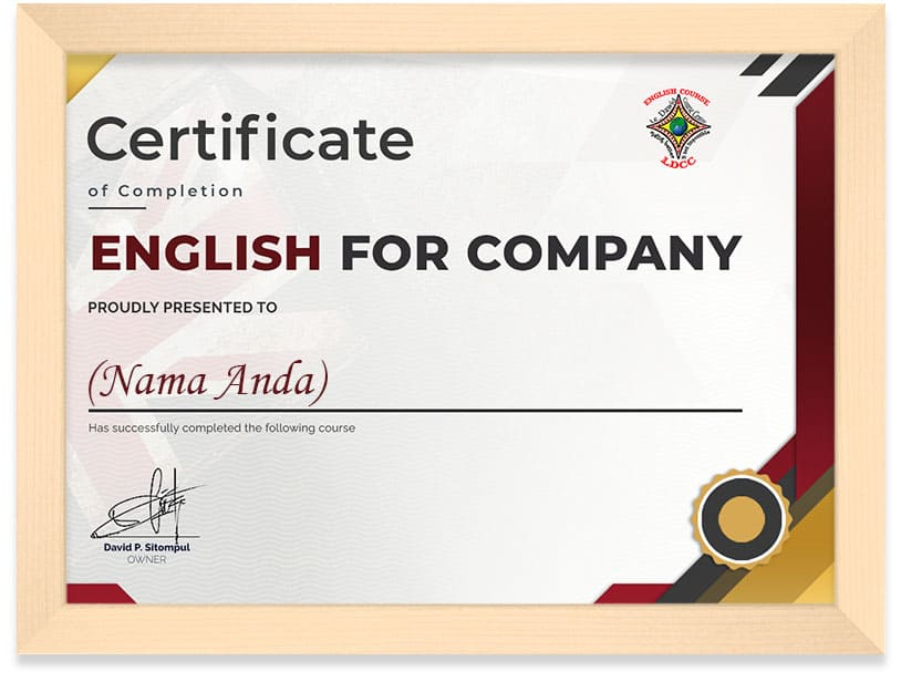 English_For_Company_Certificate_Frame
