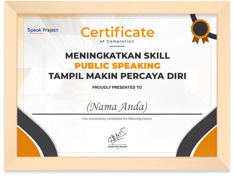 Arkademi_Public_Speaking_Certifikat_Frame