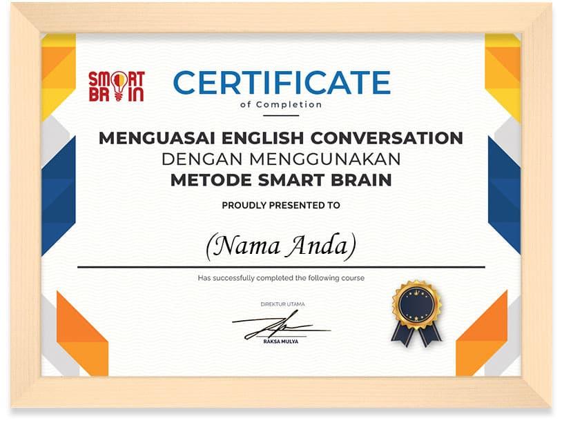 Arkademi_Sertifikat_MENGUASAI_ENGLISH_CONVERSATION_DENGAN_MENGGUNAKAN_METODE_SMART_BRAIN_2_FRAME