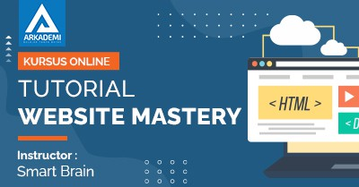 Arkademi Kursus Online - Thumbnail Tutorial Website Mastery