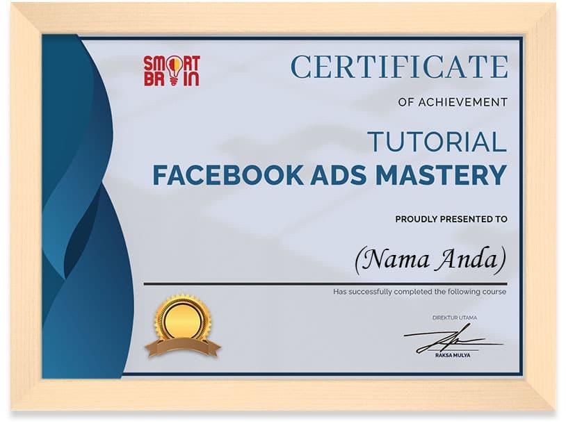 Arkademi Kusus Online - Sertifikat Tutorial Facebook Ads Mastery