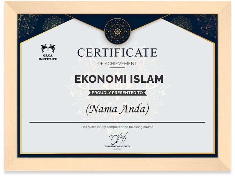 Arkademi Kursus Online - Ekonomi Islam Frame