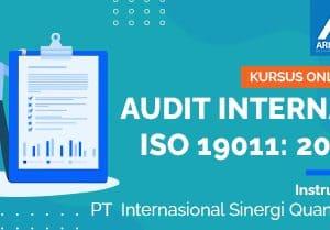 Arkademi Kursus Online - Thumbnail INTERNAL AUDITOR OF ISO 9001 2015 TRAINING