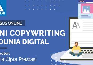 Arkademi Kursus Online -Thumbnail Seni Copywriting di Dunia Digital