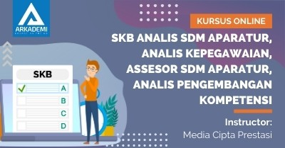 Arkademi Kursus Online - Thumbnail SKB ANALIS SDM Aparatur, Analis Kepegawaian, Assesor SDM Aparatur, Analis Pengembangan Kompetensi