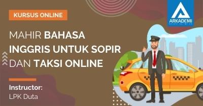 Arkademi Kursus Online - Thumbnail Mahir Bahasa Inggris untuk Sopir dan Taksi Online
