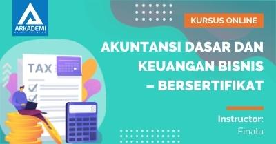 Arkademi Kursus Online - Thumbnail Akuntansi Dasar dan Keuangan Bisnis new