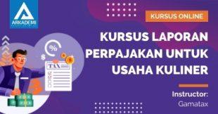 Arkademi Kursus Online - Thumbnail Kursus Laporan Perpajakan untuk Usaha Kuliner