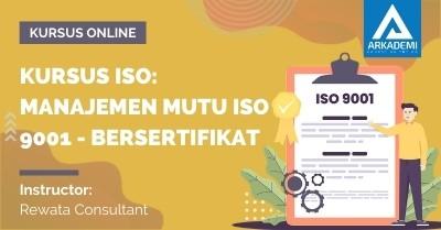 Arkademi Kursus Online - Thumbnail Kursus ISO_ Manajemen Mutu ISO 9001 - Bersertifikat