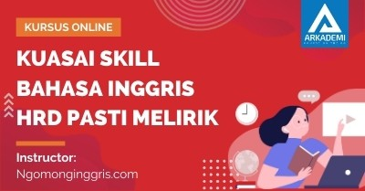 Arkademi Kursus Online - Thumbnail Kuasai Skill Bahasa Inggris HRD Pasti Melirik