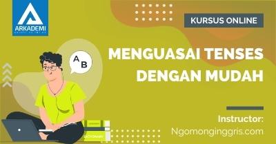 Arkademi Kursus Online - Thumbnail Menguasai Tenses Dengan Mudah