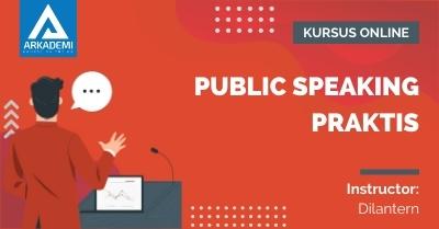 Arkademi Kursus Online - Thumbnail Public Speaking Praktis
