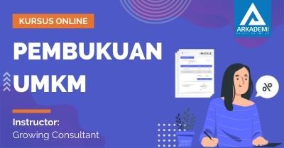 Arkademi Kursus Online - Thumbnail Pembukuan UMKM