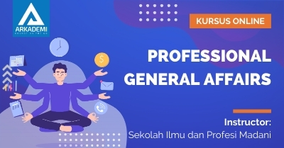 Arkademi Kursus Online - Thumbnail Professional General Affairs