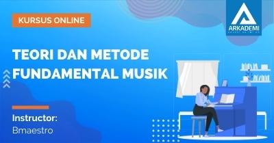 Arkademi Kursus Online - Thumbnail Teori dan Metode Fundamental Musik