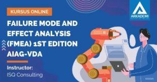 Arkademi Kursus Online - Thumbnail Failure Mode and Effect Analysis (FMEA) 1ST Edition AIAG-VDA