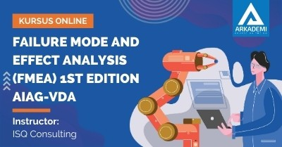 Arkademi Kursus Online - Thumbnail Failure Mode and Effect Analysis (FMEA) 1ST Edition AIAG-VDA