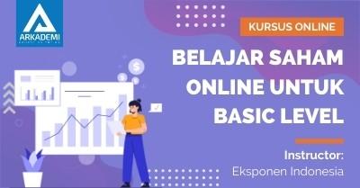 Arkademi Kursus Online - Thumbnail Belajar Saham Online Untuk Basic Level