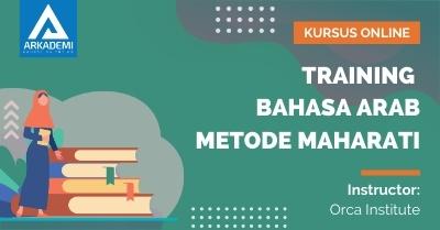 Arkademi Kursus Online - Thumbnail Training Bahasa Arab Metode MAHARATI