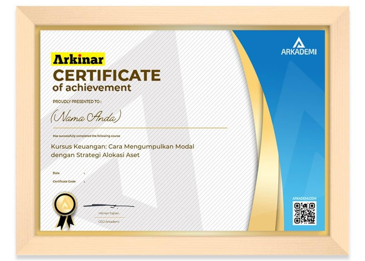 Arkademi Kursus Online - Sertifikat Kursus Keuangan_ Cara Mengumpulkan Modal dengan Str Fram