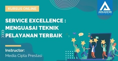 Arkademi Kursus Online - Thumbnail Service Excellence Menguasai Teknik Pelayanan Terbaik
