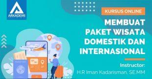 Arkademi Kursus Online - Thumbnail Membuat Paket Wisata Domestik dan Internasional