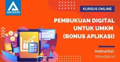 Arkademi Kursus Online - Thumbnail Pembukuan Digital untuk UMKM