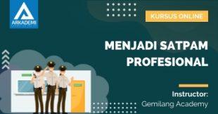 Arkademi Kursus Online - Thumbnail Menjadi Satpam Profesional Rev