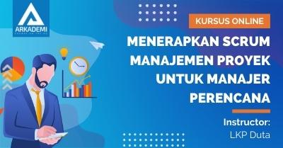Thumbnail Menerapkan SCRUM Manajemen Proyek untuk Manajer Perencana