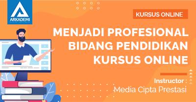 Thumbnail Menjadi Profesional Bidang Pendidikan Kursus Online